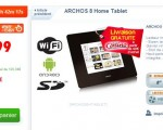 Vente Flash CDiscount Archos 8 99€