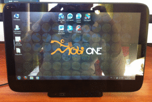 Mobi One by ExoPC vue de face