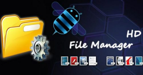 File Manager HD pour tablette tactile Android