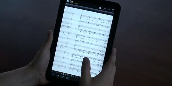 L'application Musicnotes.com en version Android