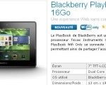 Promotion sur la tablette BlackBerry PlayBook : jusqu'à 14€ de réduction