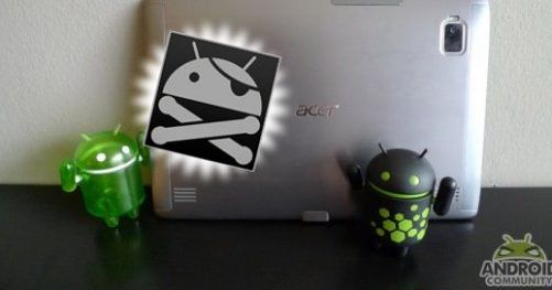 Tutoriel : rooter son Acer Iconia Tab A500 sous Android HoneyComb 3.1