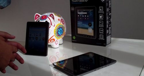 Test des tablettes Carrefour Touch Tablet CT704 et CT1002