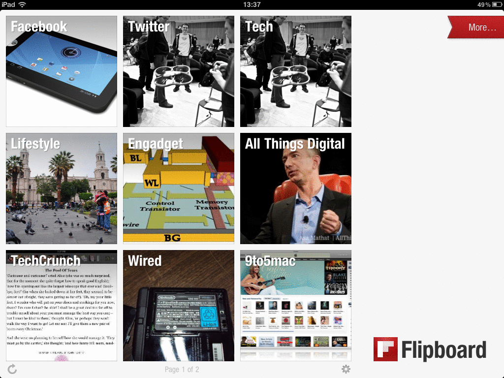 Coup de coeur sur l'application Flipboard (Android/iOS)