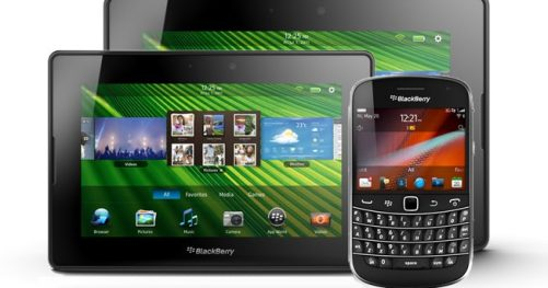 Utilisation professionnelle de la tablette BlackBerry PlayBook