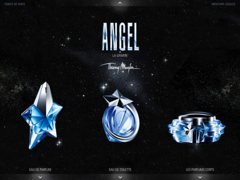 Application iPad Thierry Mugler