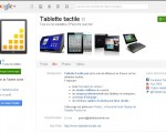 Ouverture de la page Google+ de Tablette-Tactile.net