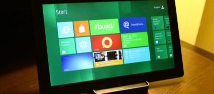 Une tablette Samsung sous Windows 8