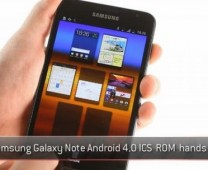 Samsung Galaxy Note Ice Cream Sandwich