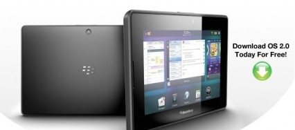 BlackBerry PlayBook OS 2.0 disponible au téléchargement !