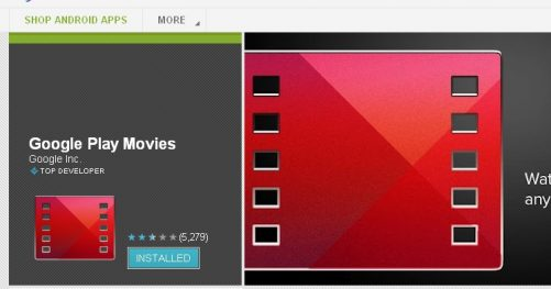 Google Play Movies disponible en France ?