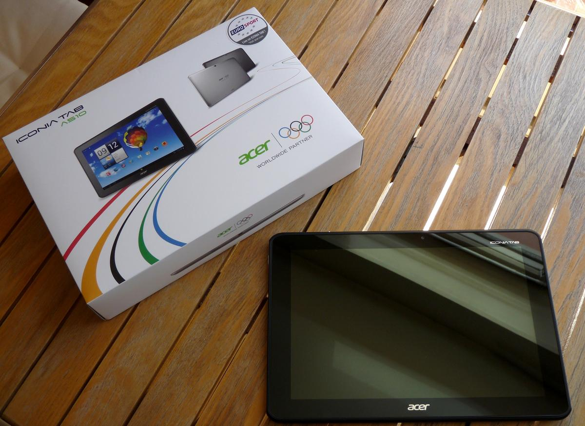 Test de l'Acer Iconia Tab A510