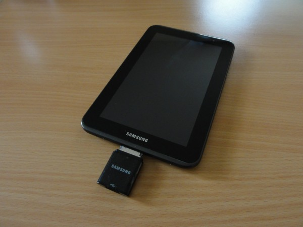 Test samsung galaxy tab 2 70 tablette tactile dsc02178 - Port usb tablette samsung ...