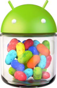 Logo android 4.1 Jelly Bean