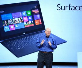 Microsoft : une Surface Pro avec un SSD de 256Go et 100 000 applications sur le Windows Store