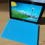 Surface RT et son Touch Cover