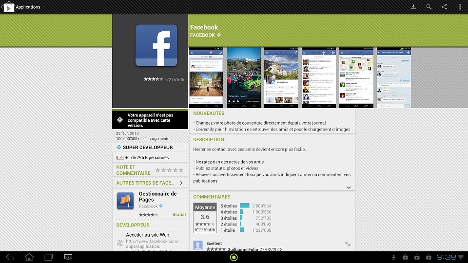 Demande de rencontre application facebook