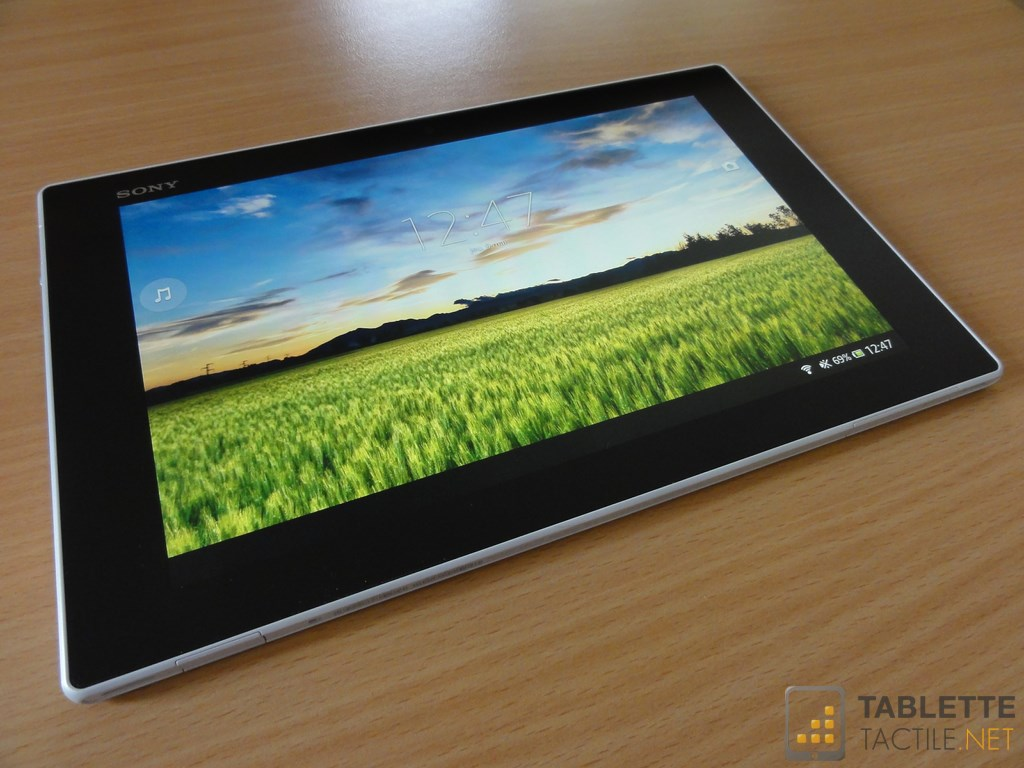 Sony xperia tablet z kitchen edition une version pour for Tablette tactile cuisine