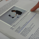 Fujitsu Laboratories : transformer du papier en surface tactile