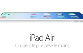 Test de l'iPad Air : la fusion de l'iPad Retina et de l'iPad mini