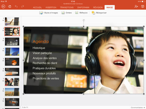 PowerPoint iPad
