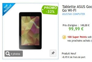 La Nexus 7 2012 en promotion