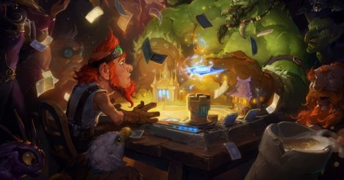 Hearthstone pour tablette android
