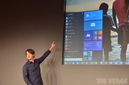 Présentation Windows 10