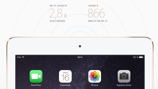 iPad Air connectique