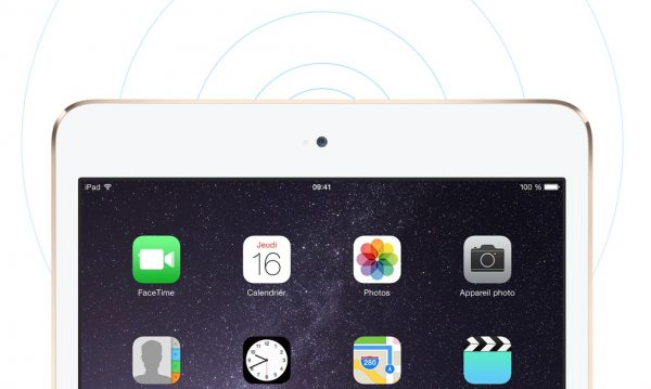 iPad mini 3 connect
