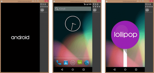 interface Android lollipop