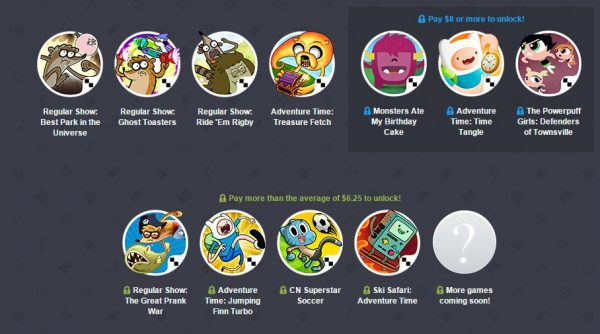 Humble Mobile Bundle Cartoon Network