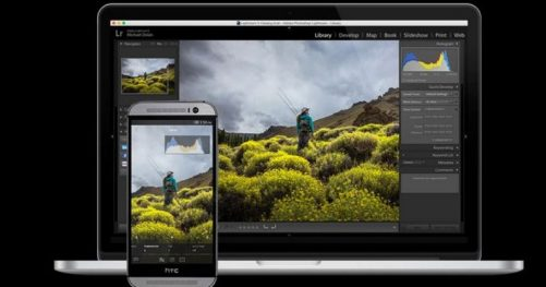 Lightroom pour Android