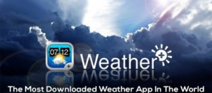 Application tablette android Weather+
