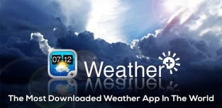 L'application Weather+ sans pub & complètement gratuite