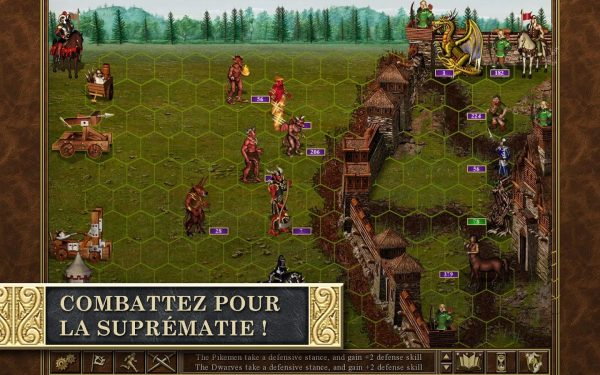 Les combats dans Heroes of Might and Magic III
