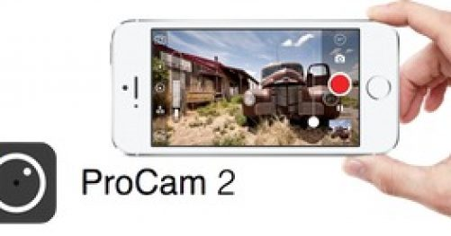 Application iOS Procam