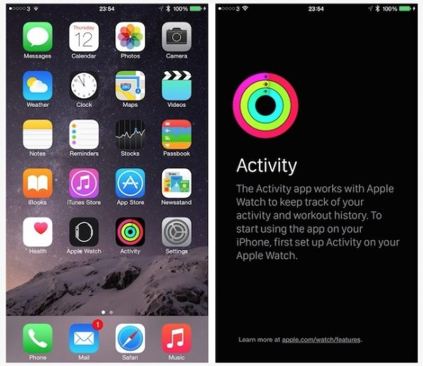 Apple Watch Activité