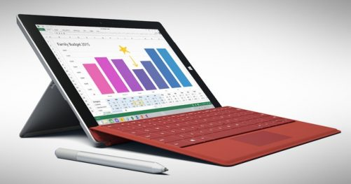 La Microsoft Surface 3