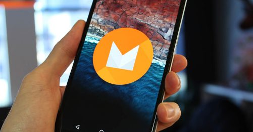 Smartphone avec Android M