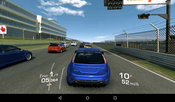 Real racing sur Amazon Fire
