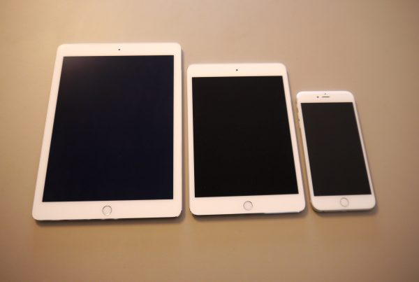 iPad mini 4 vs iPad Air vs iPhone 6S