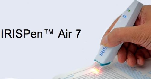 Test de IRISPen Air 7