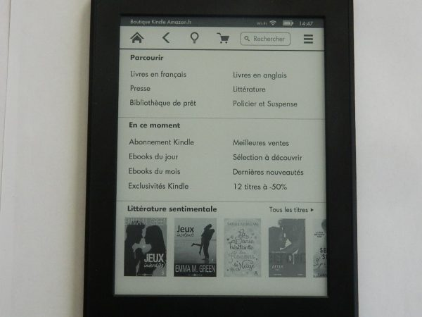 Kindle Paperwhite
