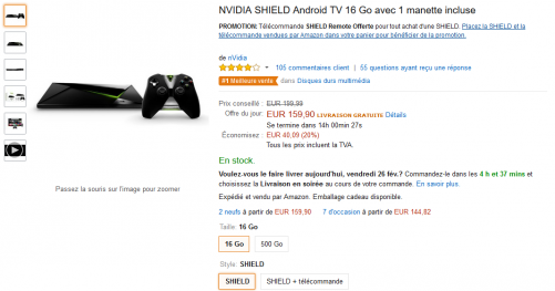 promotion SHIELD Android TV