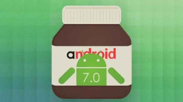Logo android nutella