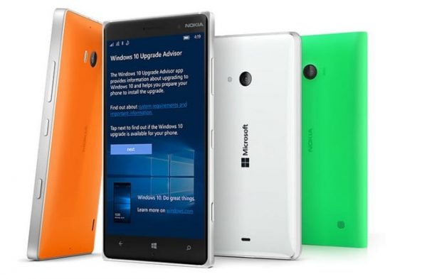 Windows 10 mobile mise à jour Lumia