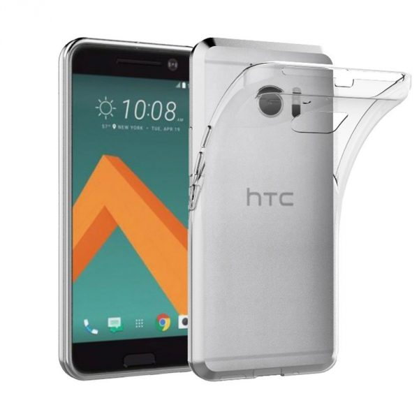 Coque transparente AICEK HTC 10