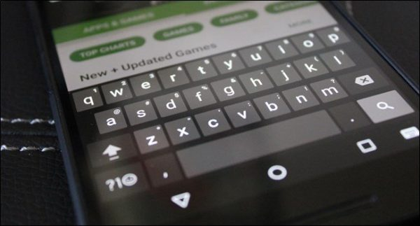 Clavier google keyboard