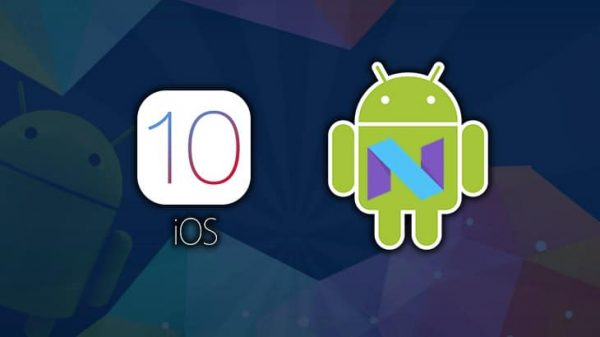 ios-10 comparatif android-n